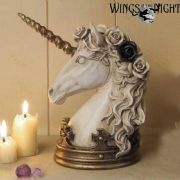 ALCHEMY GOTHIC Mythical Unicorn Jewellery Stand / Figurine | Gothic Home & Gifts